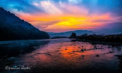 Sunrise in the hills