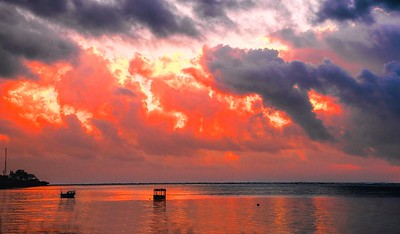 Sunrise in Mombasa