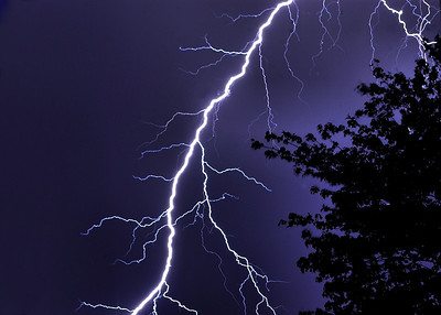 Lightning and Stormy Weather