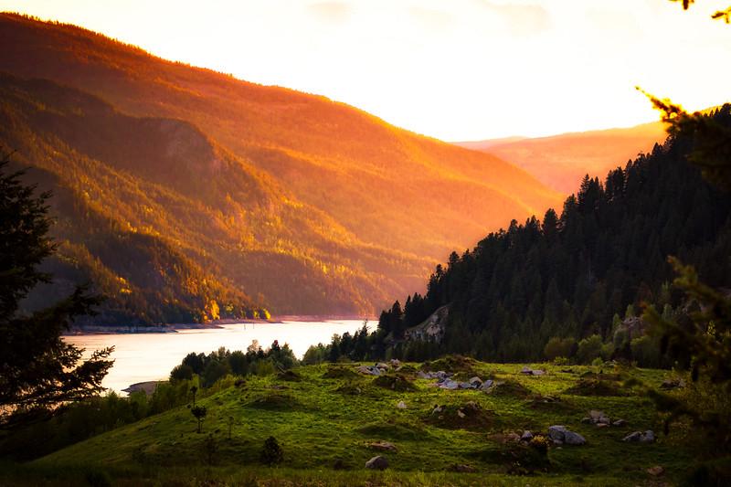 Arrow Lakes Sunset