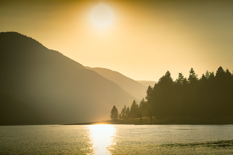 Arrow Lakes Evening