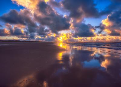 Sunrise on Sunset Beach 8-11-2016