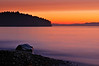Strait of Juan de Fuca Chromatic Sunset Gradation