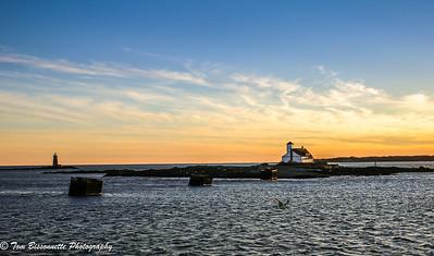 Wood Island and Whaleback Light
