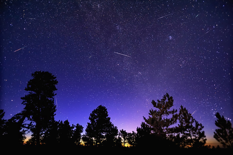 Morning Meteors of the Perseid Kind