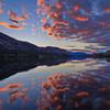 Vaseux Lake Supersunset 2016