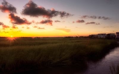 Sunset Beach Sunset over Bird Island. 8-12-2016