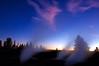 Yellowstone Fumaroles by Twilight