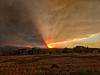 Apocalyptic Cameron Peak Sunset