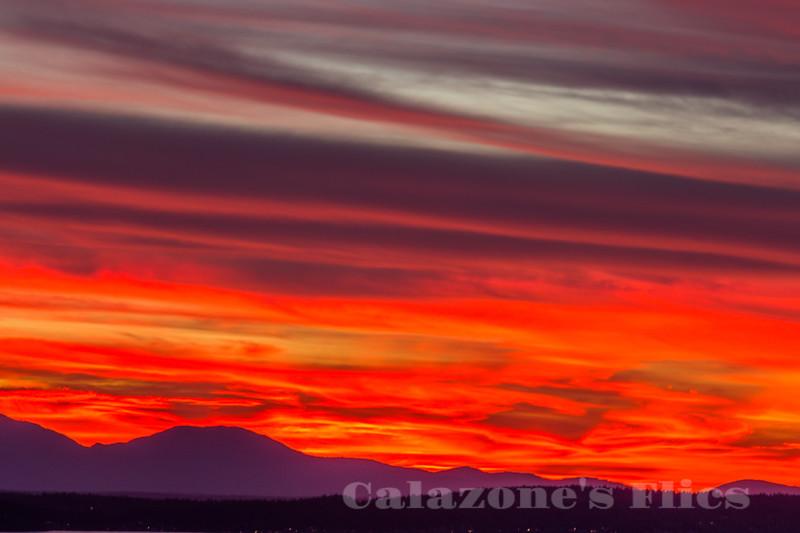Sky Of Lava