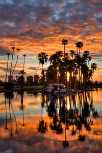 Sunrise at Encanto Park