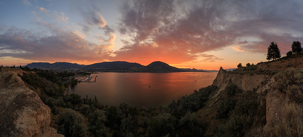 Penticton Sunset August 2020