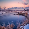 Frosty Morning on the Middle Provo River