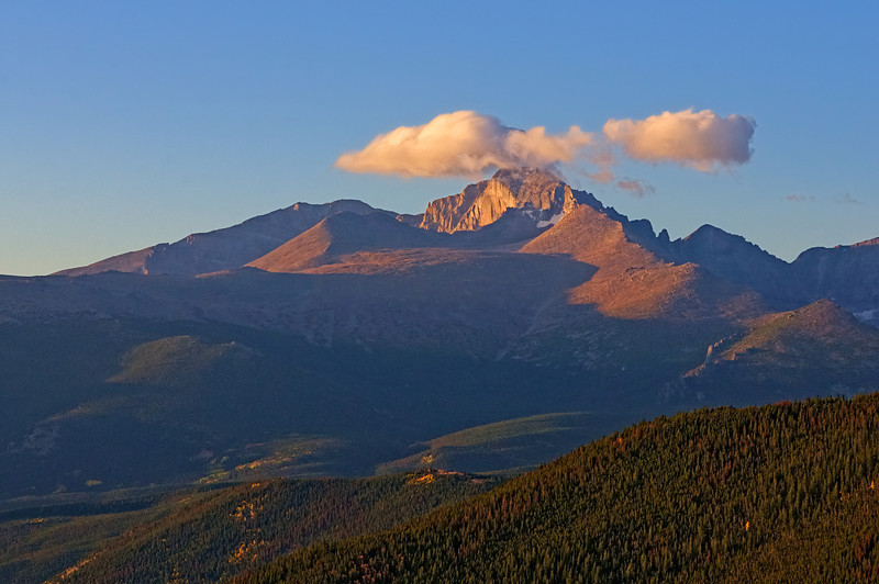 Long's Peak Sunrise Glow