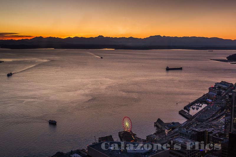 Columbia Sunset