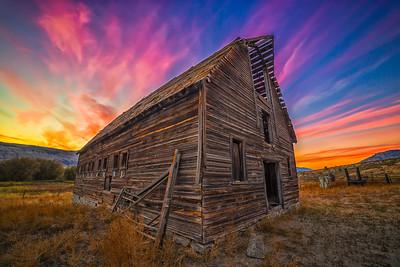 Haynes Barn Sunset
