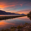 Skaha Pond September Sunset 2014