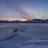 Skaha Winter Sunset Cloudstack