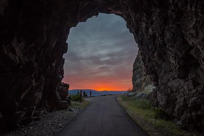 Tunnel Sunset