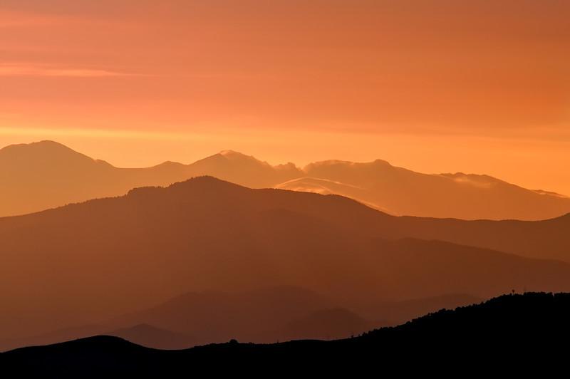 Evening Vespers in the Rockies