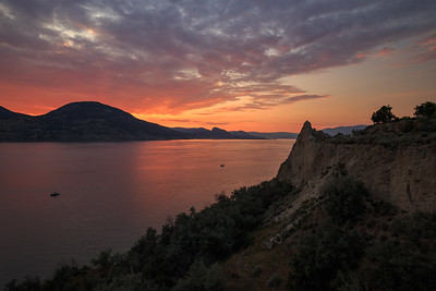 Penticton Late Sunset August 2020