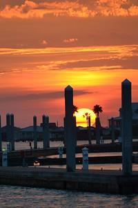 Sunrise on the way to fishing, Orange Beach