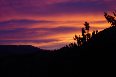 Sunsets in Colorado