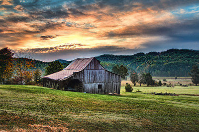 Barn in Wears Valley, Tennessee