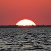 The sinking sun - zoomed in...somebody told me it looked a little an Atomic explosion...