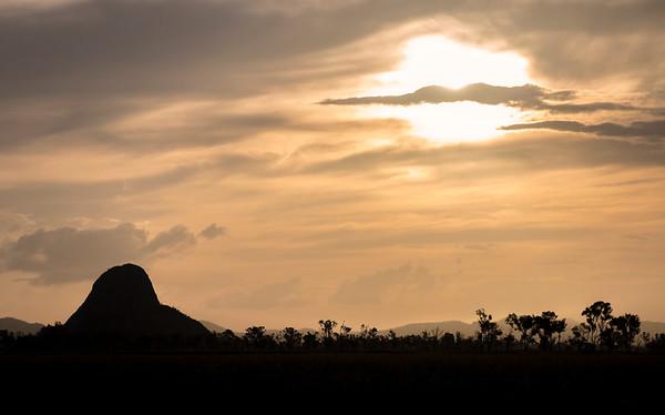 Sunset - Akubra Downs