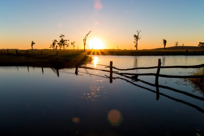 Sunset - Lake Mary