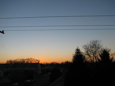 Dayton Sunsets 2008