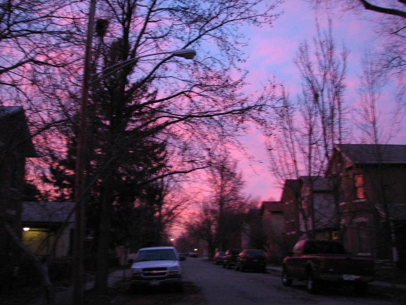 01-16-13 Dayton 09 sunset