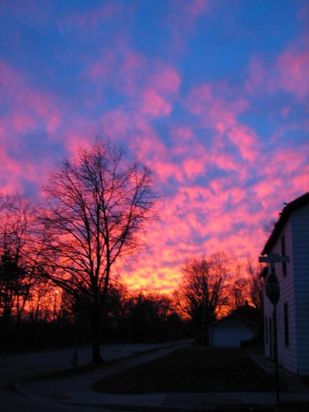 01-16-13 Dayton 10 sunset