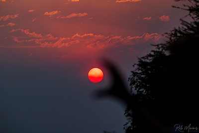 Rob Mains  REM10216Smokey Sunset