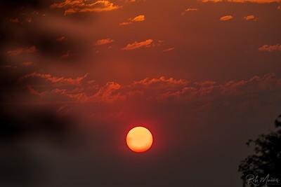Rob Mains  REM10214Smokey Sunset