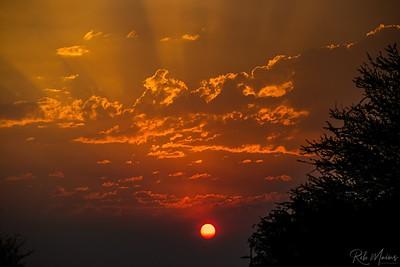 Rob Mains  REM10215Smokey Sunset