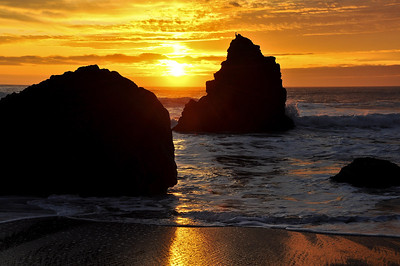 california-beach-sunset