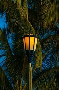 Light post  Waikiki, Hawai'i