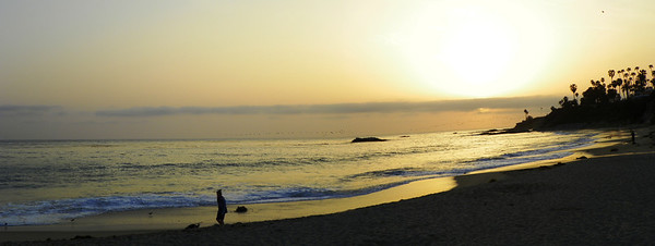 Laguna Beach Sunset - 1