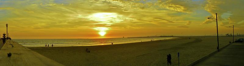 Seal Beach Sunset - 1