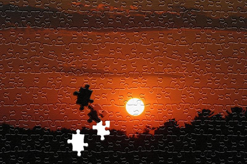 Puzzle Sunset