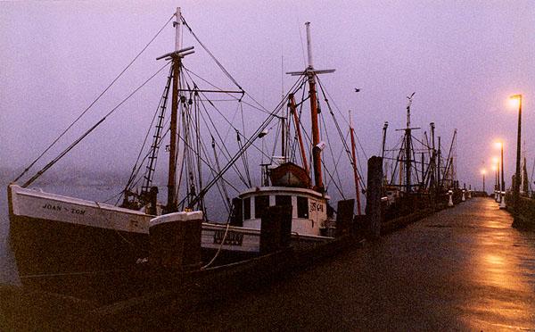 Foggy Morning #1  McMillan Wharf<br /> Provincetown MA