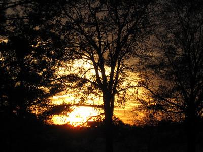 Sunset 12.8.09