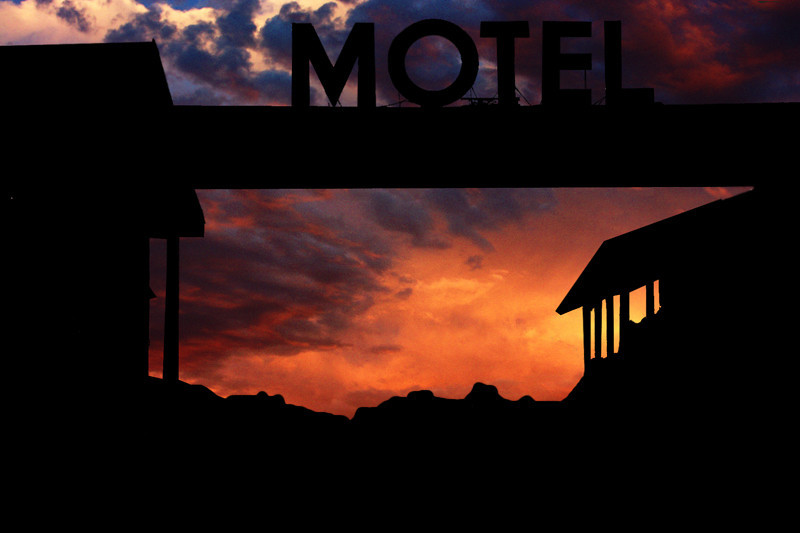 Sunset at the Motel
