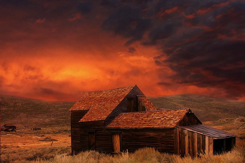 Bodie Sunset