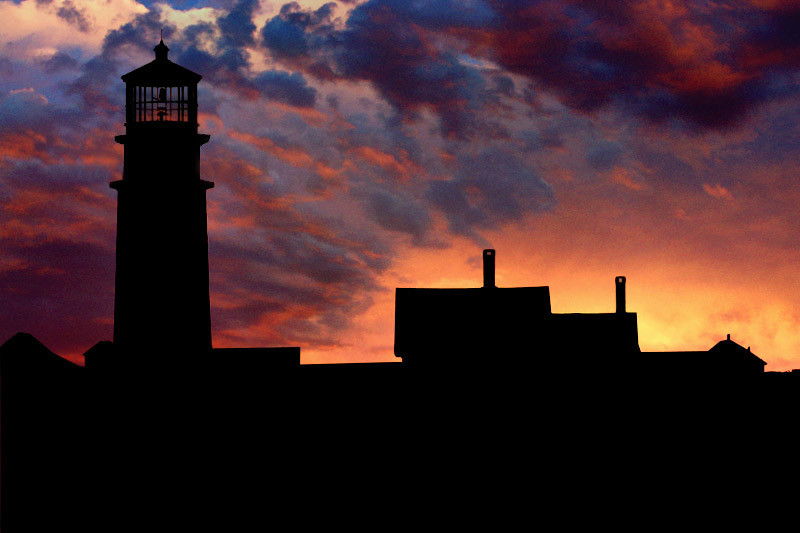 Highland Lighthouse Sunset<br /> North Truro MA