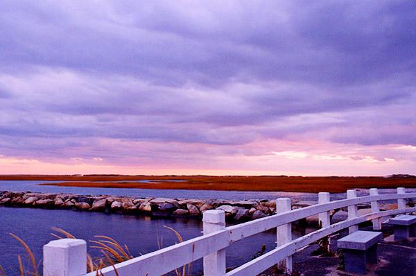 Breakwater Twilight<br /> Provincetown MA