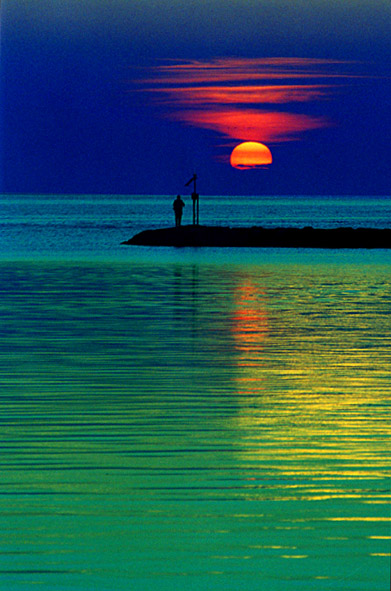 Blue Solitude<br /> Rock Harbor <br /> Orleans MA