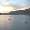 St thomas sunset panoramic